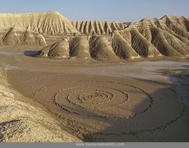 لند آرت هنر زمین هنر محیطی